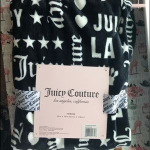 Juicy couture throw